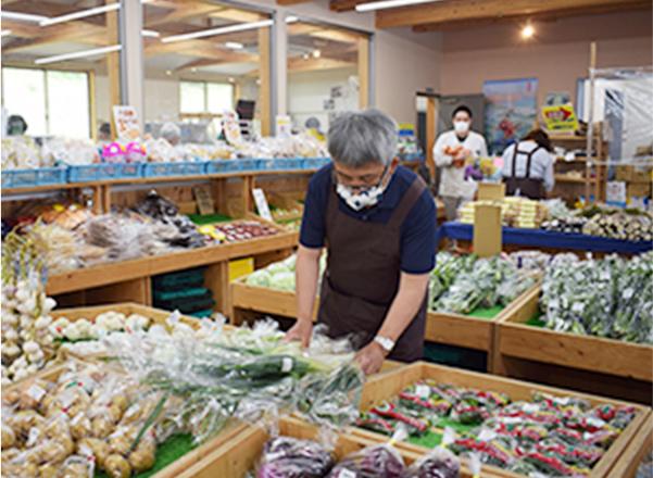 農産物販売所
