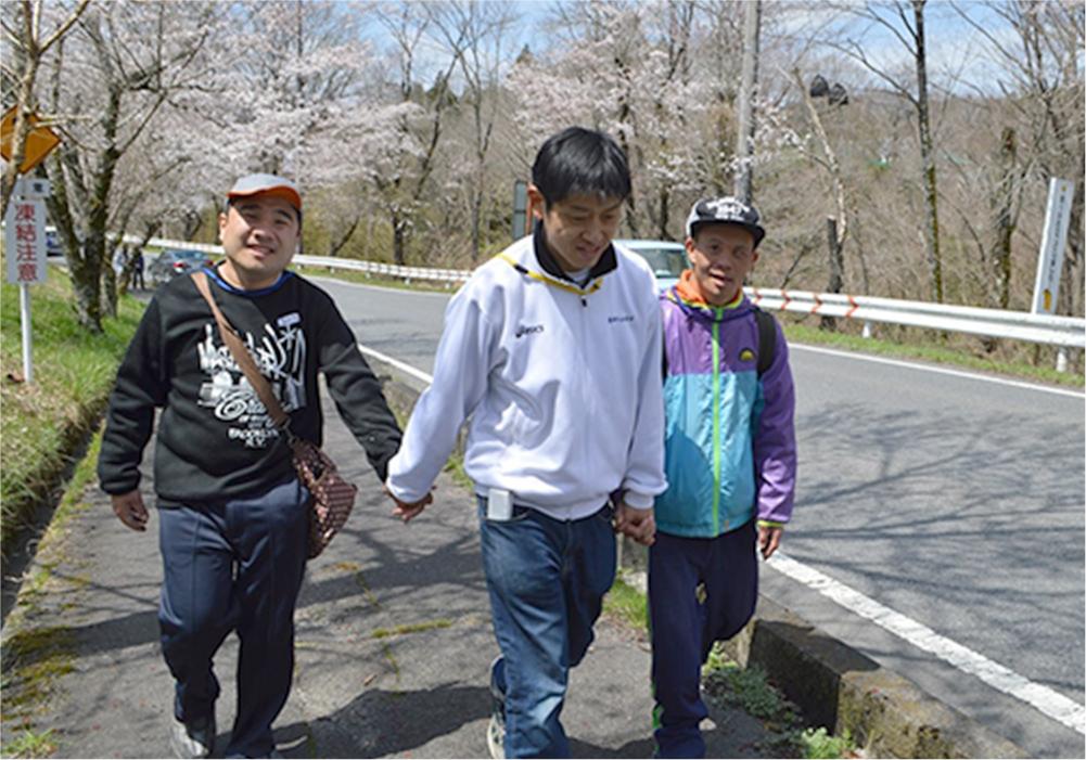 花見会(新利用者・新任職員歓迎会)